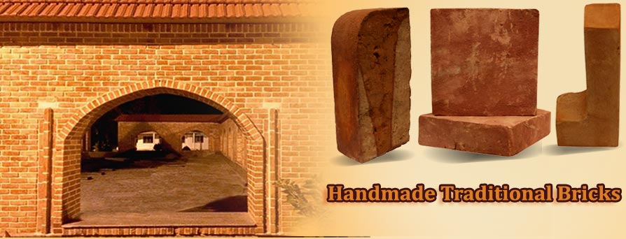 Handmade Traditional Bricks