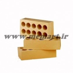 yellow perforated bricks 4x10x21.5