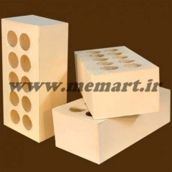 yellow perforated bricks 5x10x21