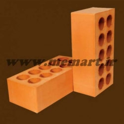 red perforated bricks 5.5x10x21.5
