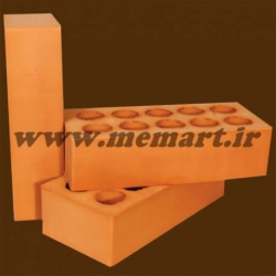 red perforated bricks 5.5x11x22