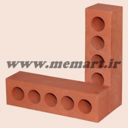 half red perforated bricks 5.5x6x22