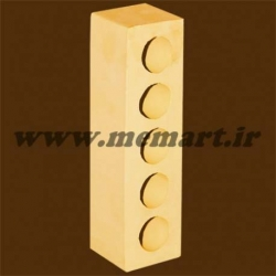 half yellow perforated bricks 5.5x6x21.5